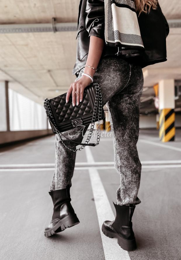 Spodnie Jeans Norena Grey