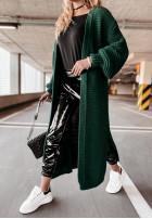 Sweter Kardigan Audrey Bottle Green