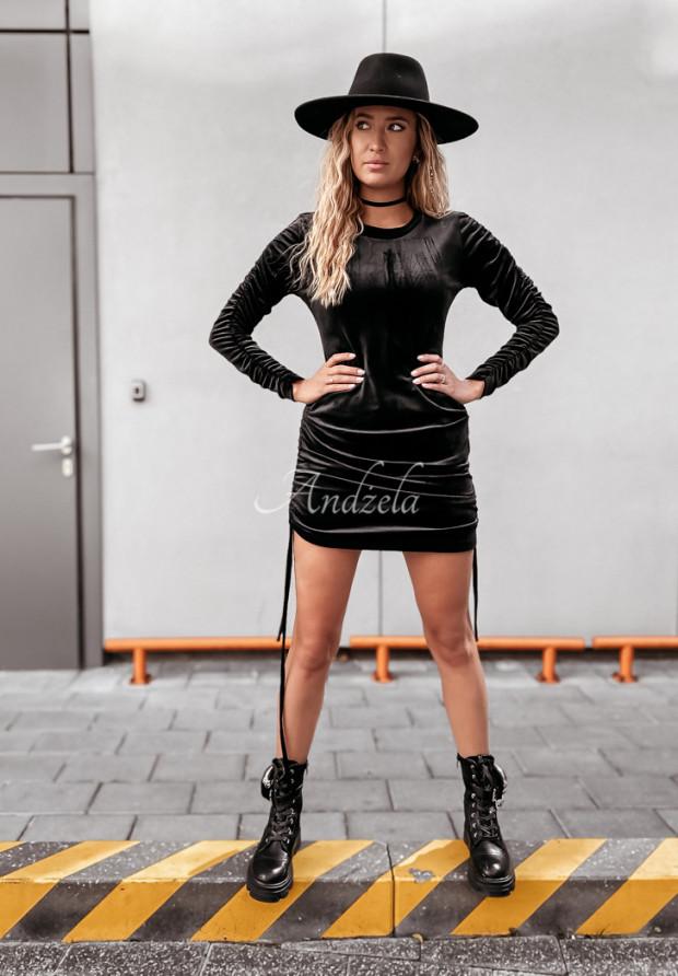 Sukienka Welur Luizanna Black
