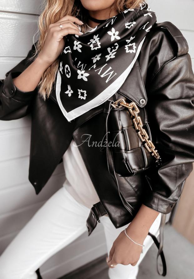Chusta My Look Black&Ecru