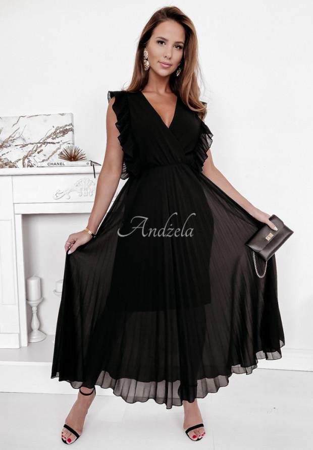 Sukienka Plisa Arania Black