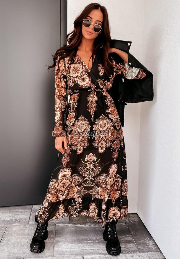 Sukienka Enebia Black&Brown
