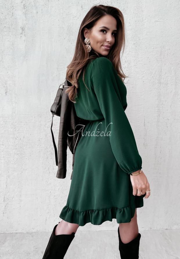 Sukienka Saselle Bottle Green