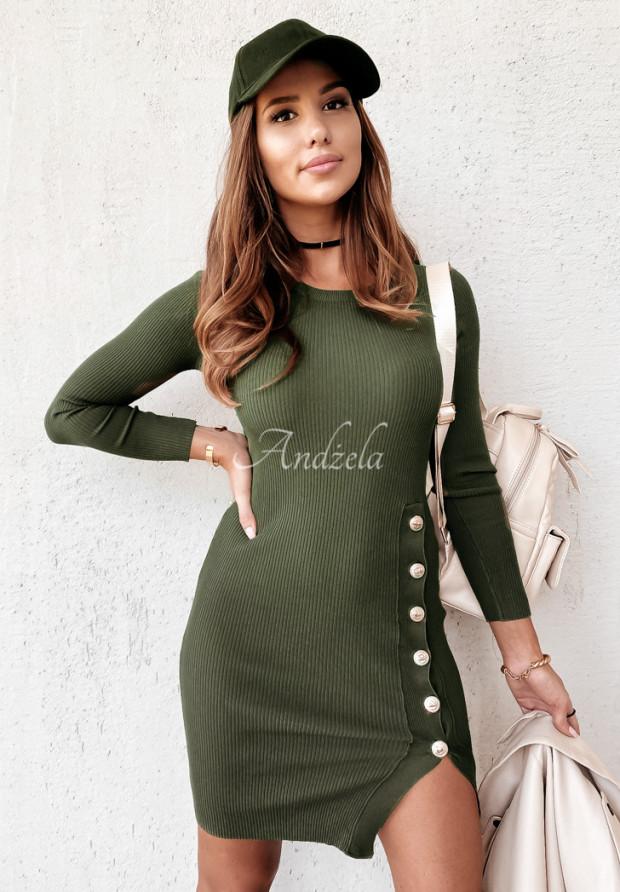 Sukienka Afrodite Khaki