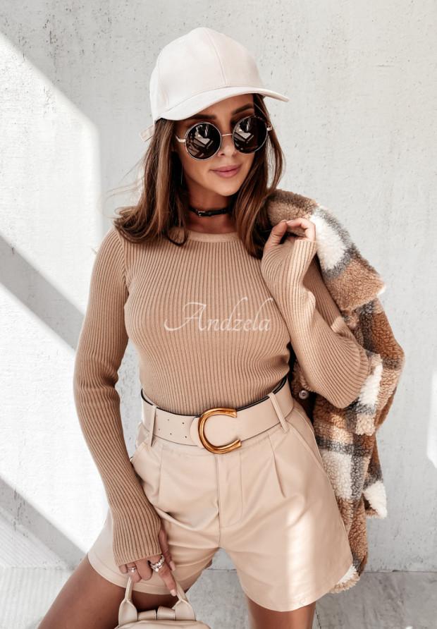 Bluzka Estella Camel