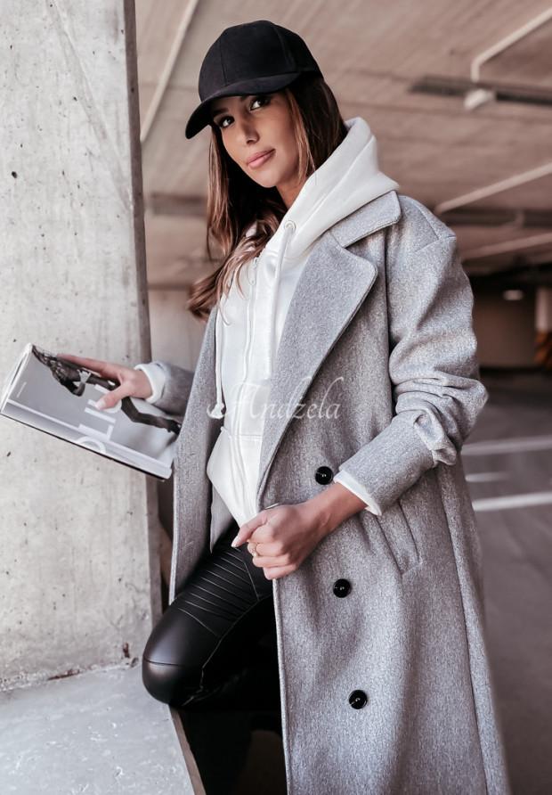 Płaszcz Adriene Grey
