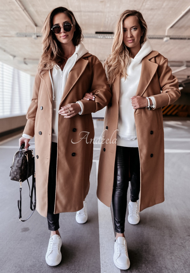 Płaszcz Adriene Camel