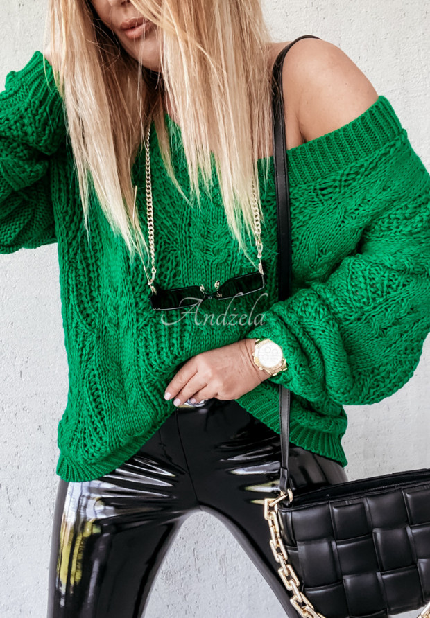 Sweter Oversize Vicaldo Green