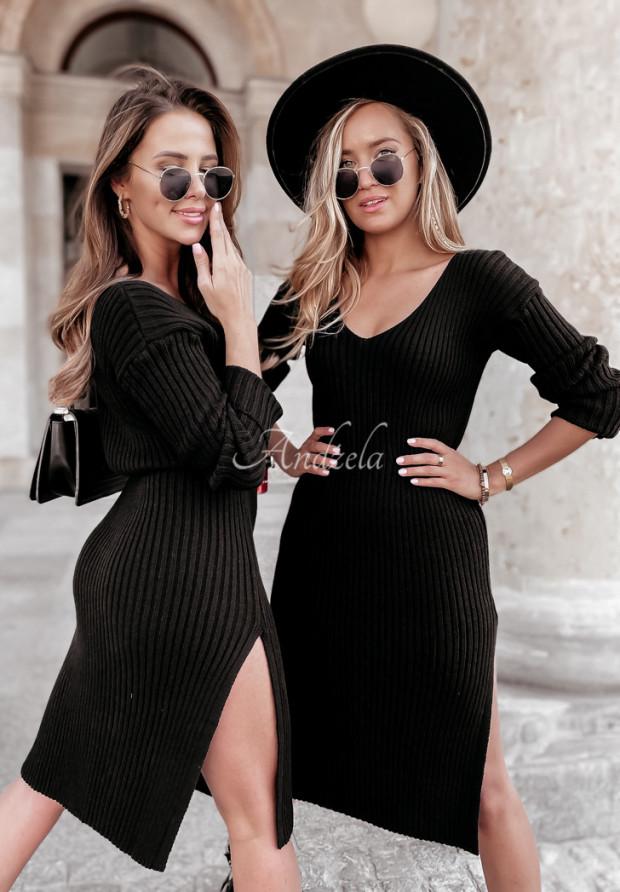 Sweter Sukienka Andes Black