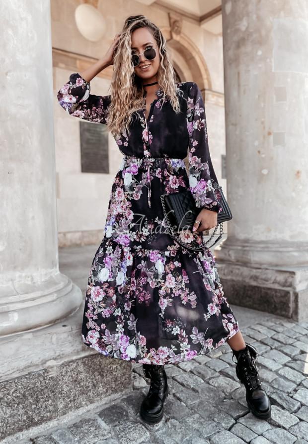 Sukienka Sentia Long Black