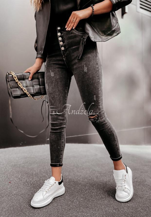 Spodnie Jeans Asdella Dark Grey