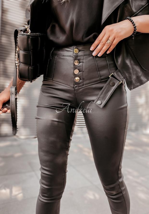 Spodnie Woskowane Navana Black