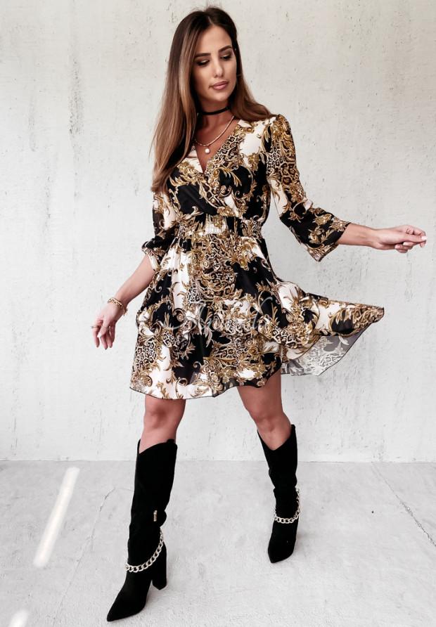 Sukienka Tallima Black&White