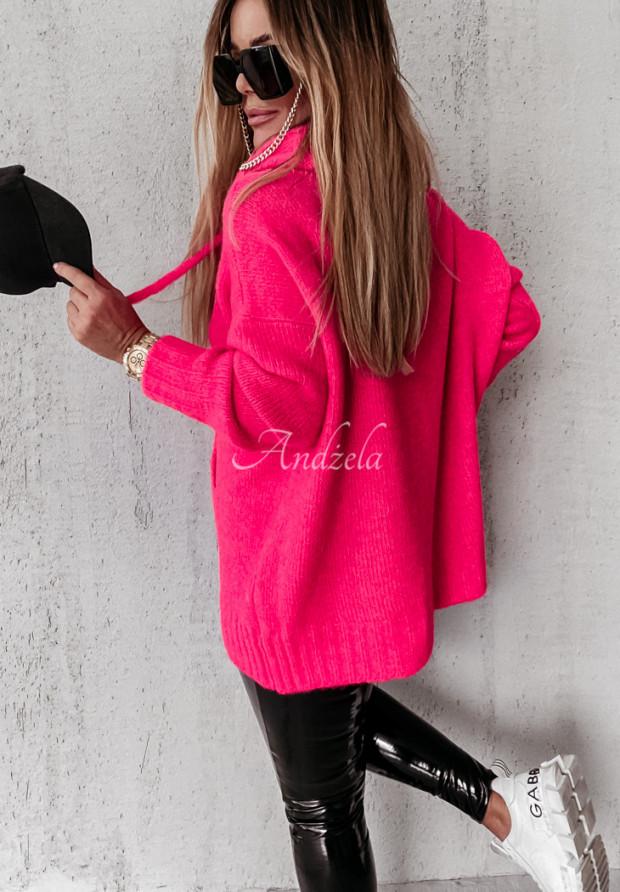 Sweter Carra Neon Pink