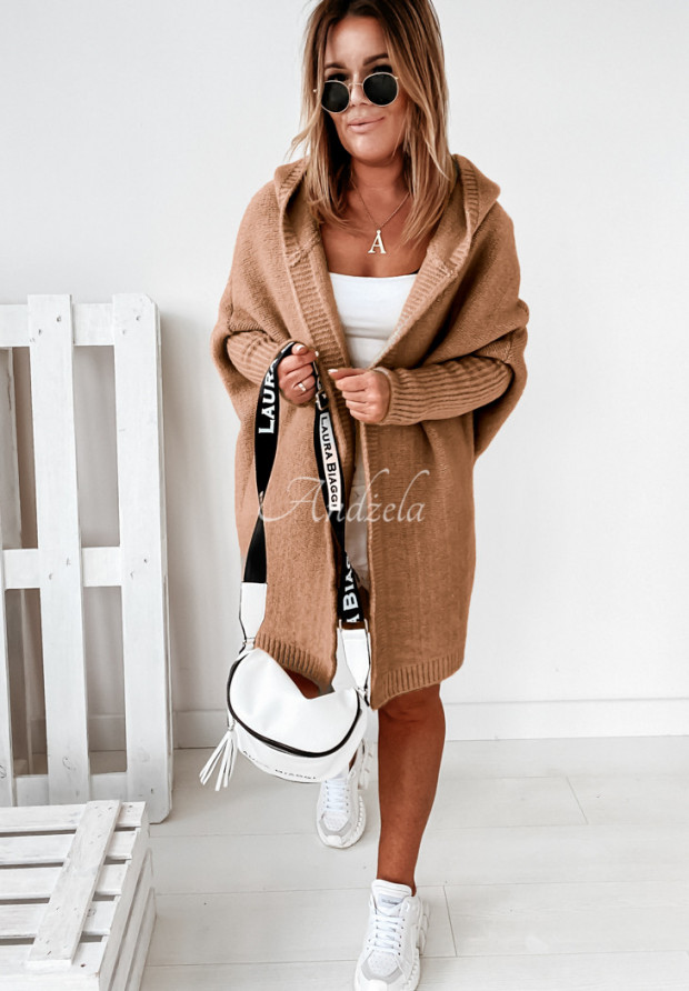 Sweter Kardigan Montevista Camel