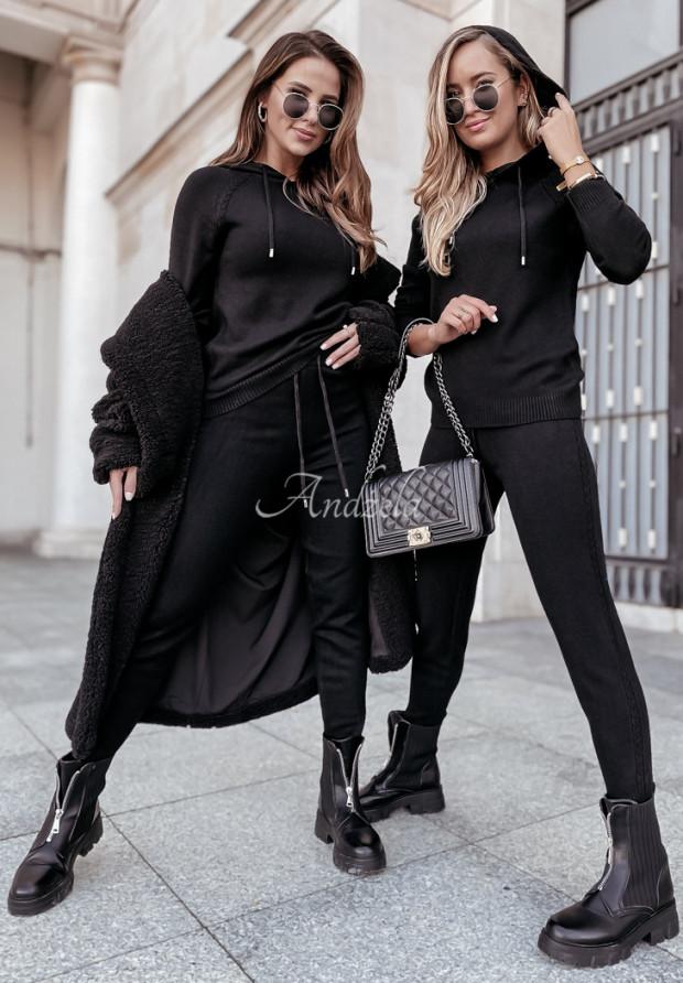 Komplet Sweterkowy Lavani Black