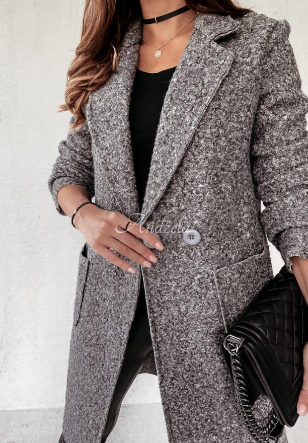 Płaszcz Kożuch Marissa Grey