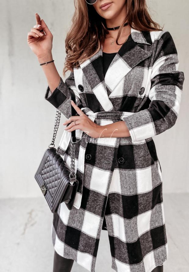Płaszcz Krata Fairmont Black&White
