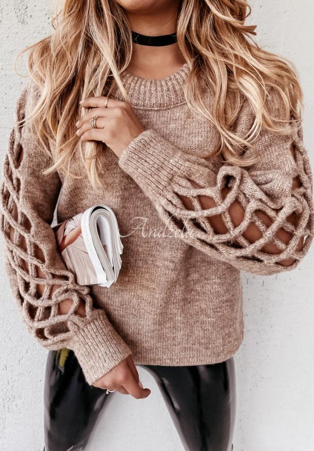 Sweter Dorita Camel