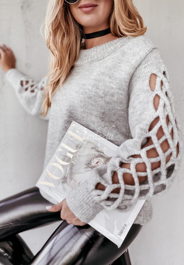 Sweter Dorita Grey