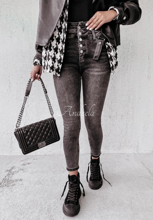 Spodnie Jeans Welman Dark Grey