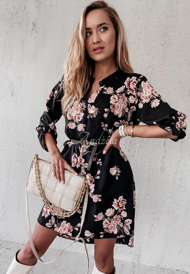 Sukienka Sybille Roses Black