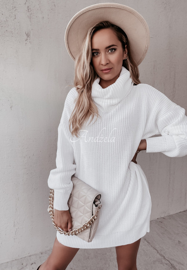 Sweter Golf Darling White