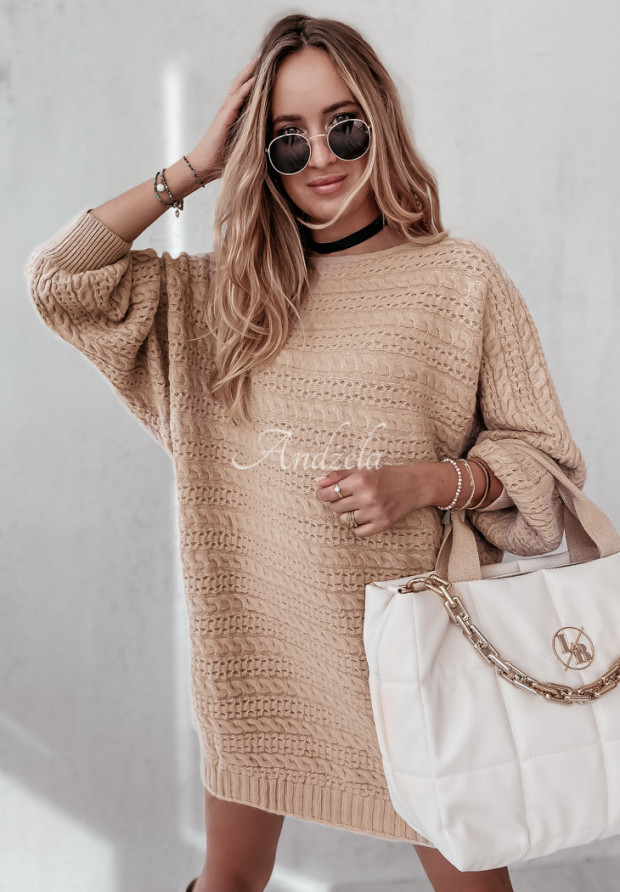 Sweter Oversize Knitty Camel