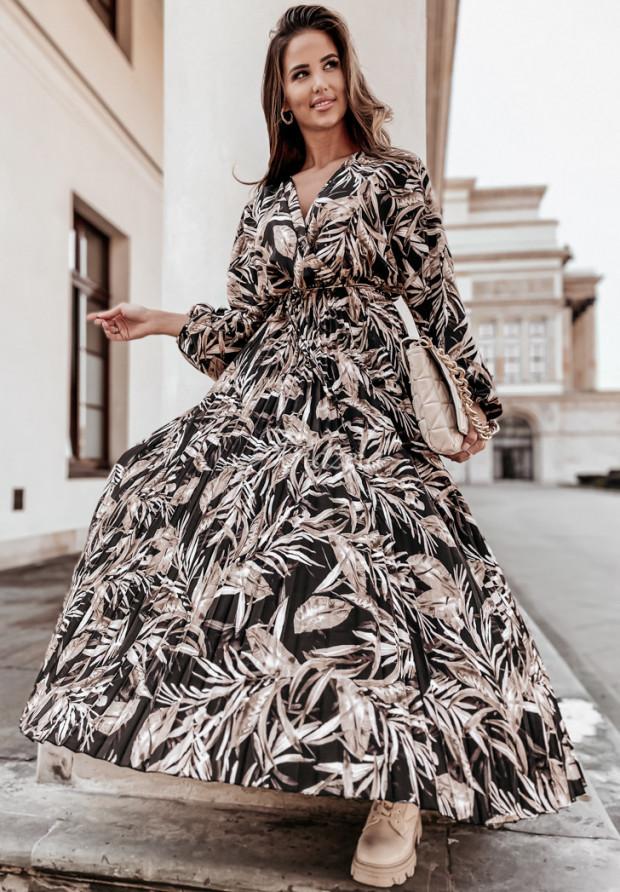 Sukienka Plisa Lazzare Black