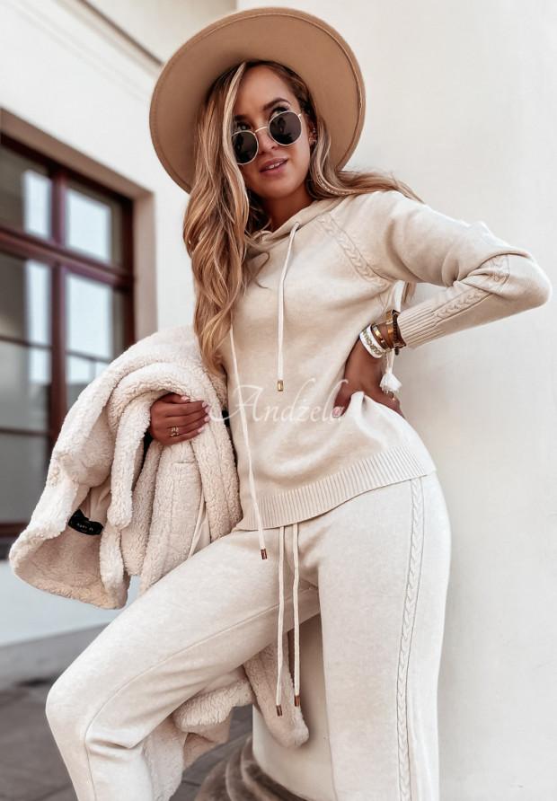 Komplet Sweterkowy Lavani Beige
