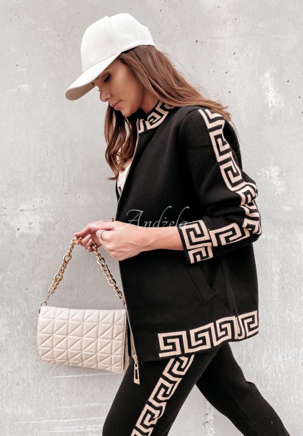 Komplet Sweterkowy Fendi Black