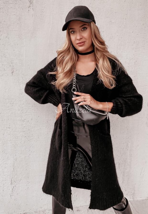 Sweter Kardigan Moher Nivra Black