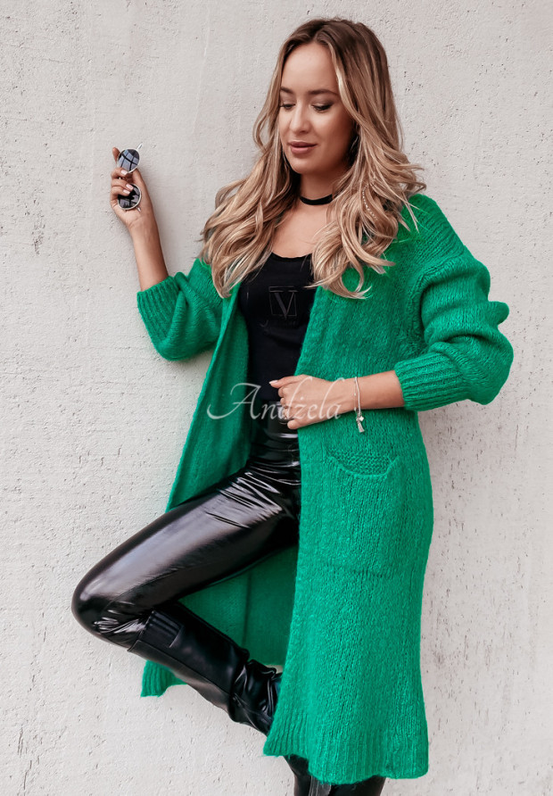 Sweter Kardigan Moher Nivra Emerald