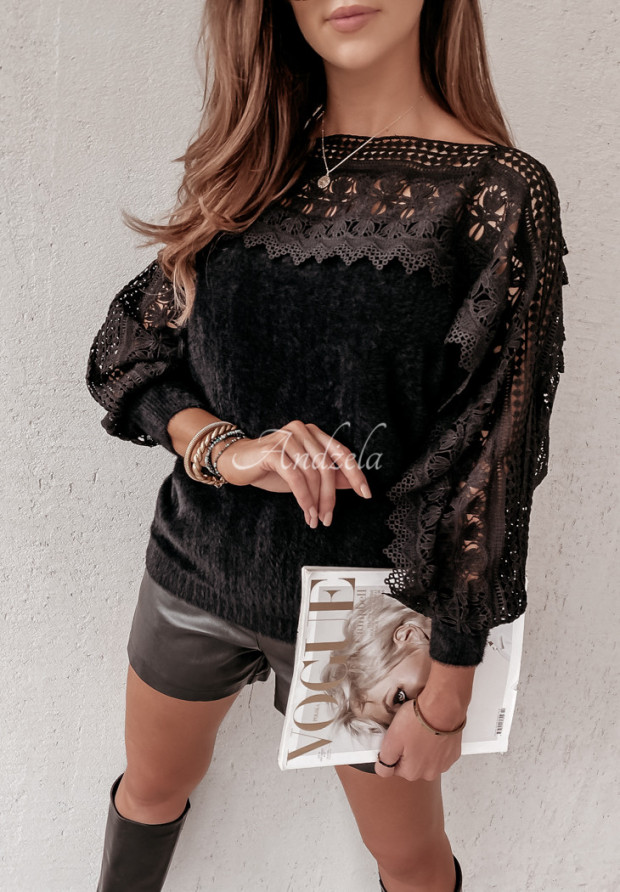 Sweter Alpaka Alicante Black