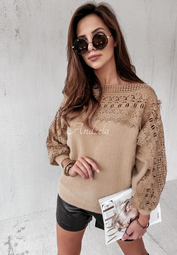 Sweter Alpaka Alicante Camel