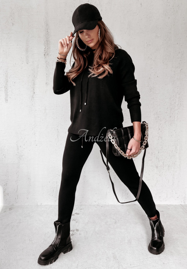 Komplet Sweterkowy Sigma Black