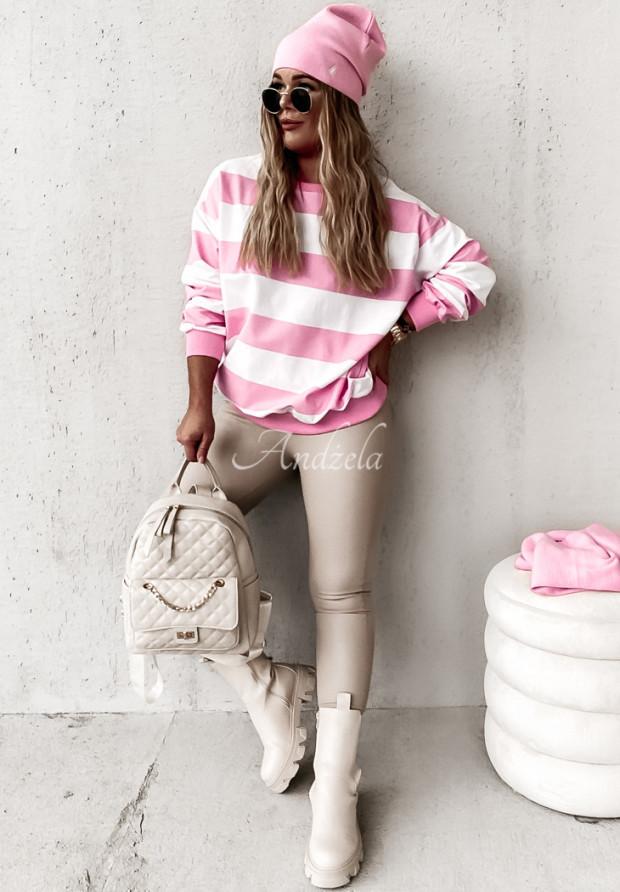 Bluza Paski Danilla Pink