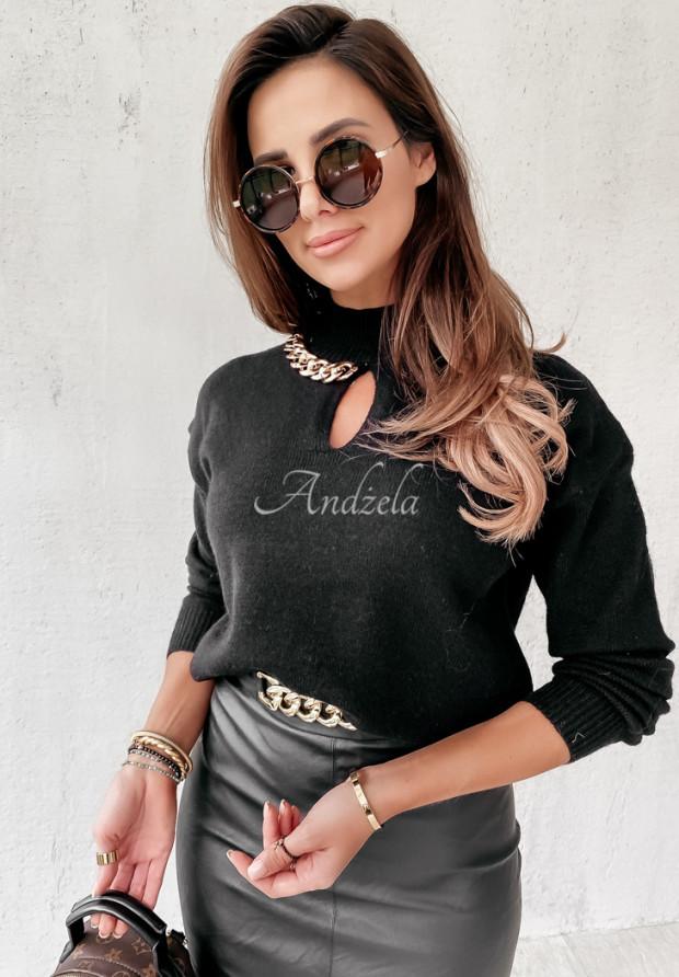 Sweter Golf Amberly Black