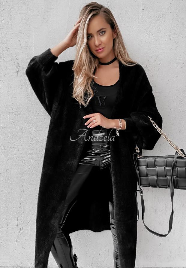 Płaszcz Alpaka Sublime Black