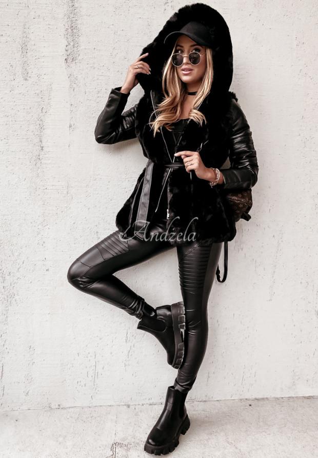 Płaszcz Futro Arvel Black