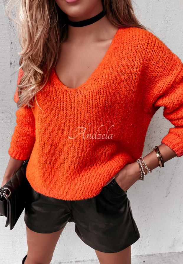Sweter Lorny Orange