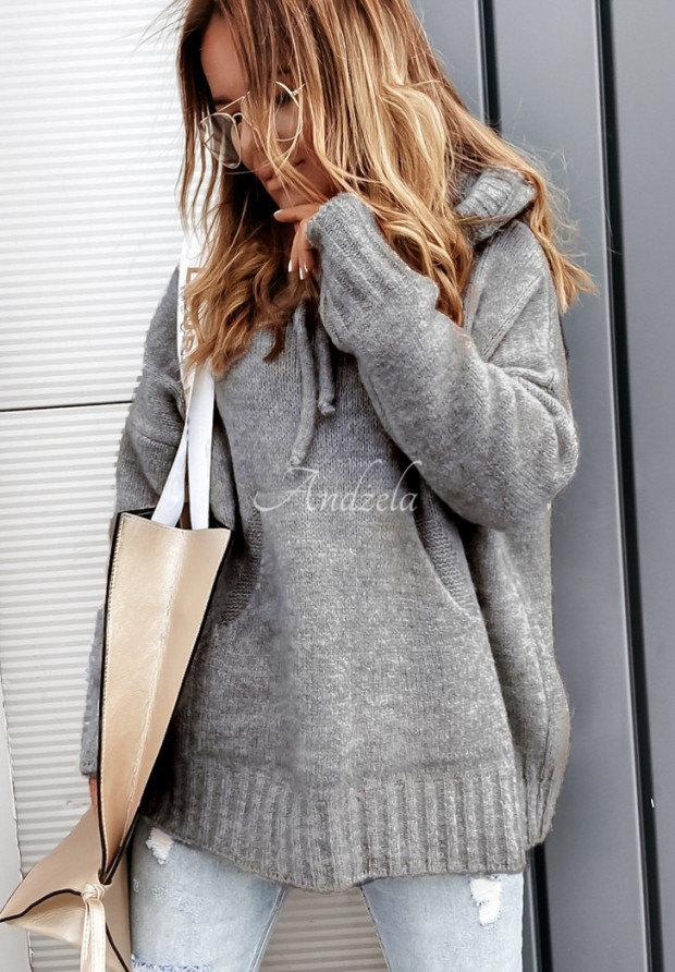 Sweter Carra Graphit