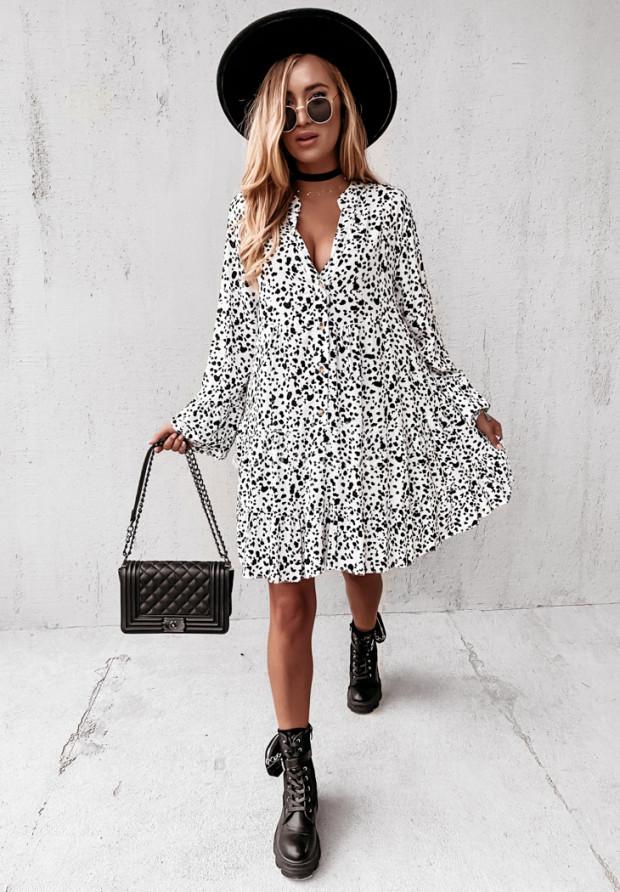 Sukienka Dalmatte White&Black