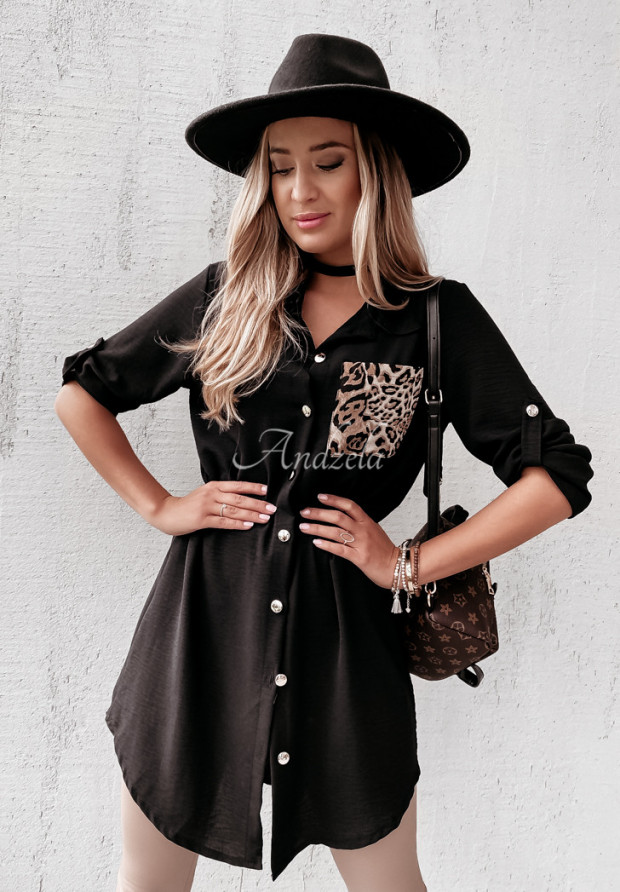 Sukienka Koszula Lugare Black