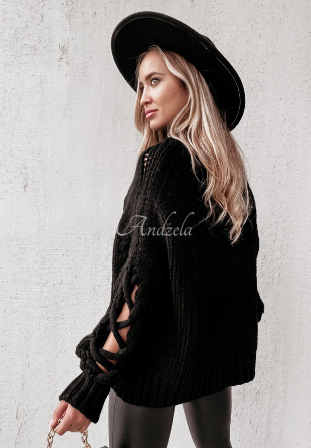 Sweter Cocomore Casual Black