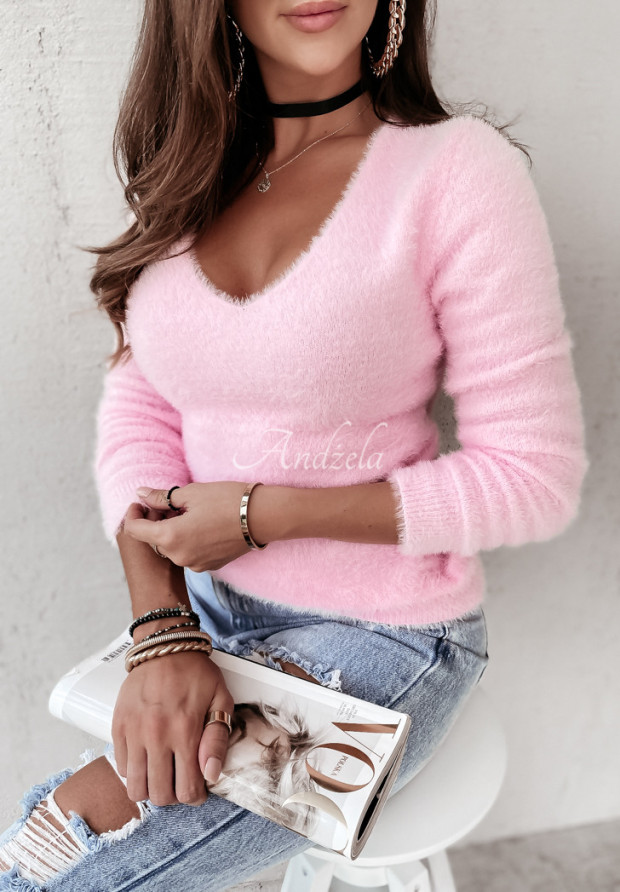 Sweter Alpaka Inter Light Pink