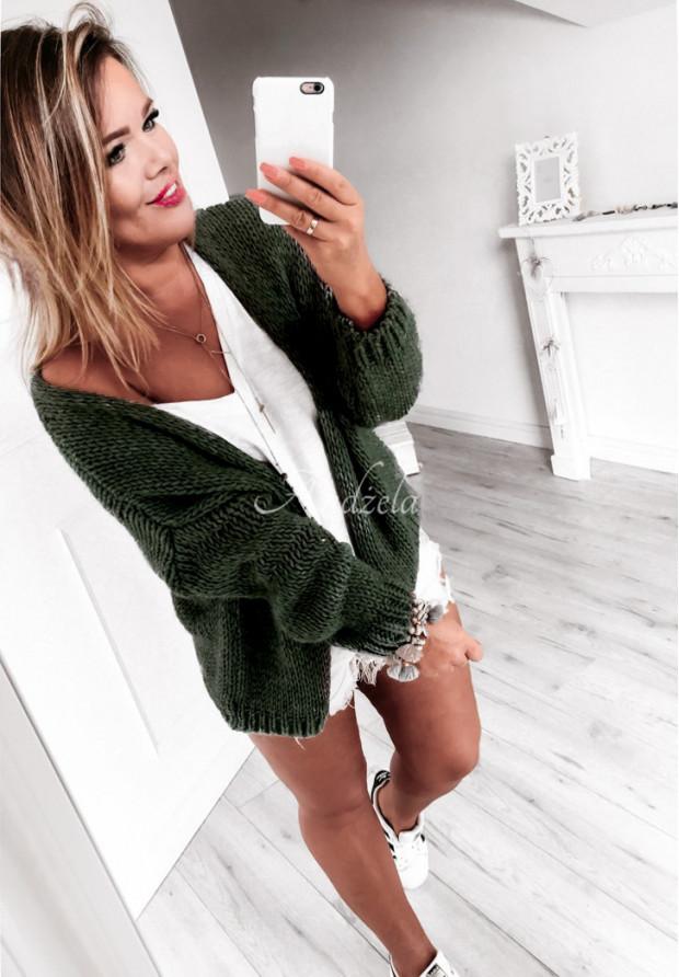 Kardigan Sweter Bonita Khaki