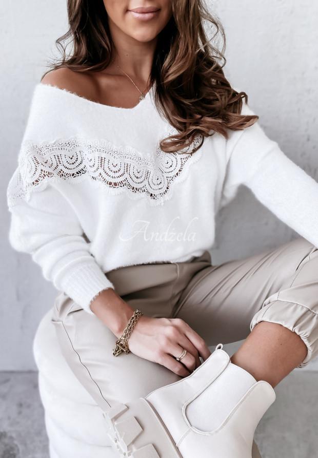 Sweter Oversize Valery Ecru
