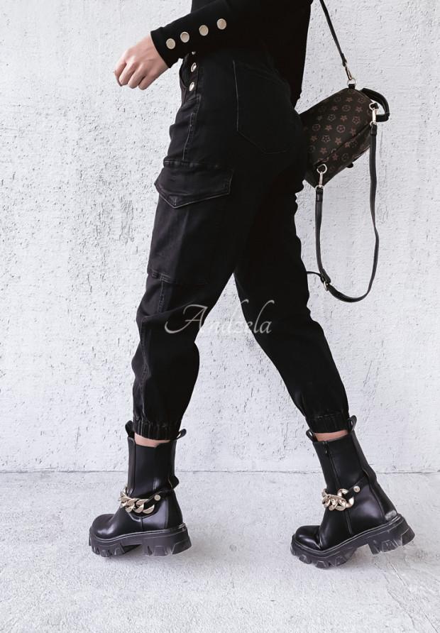 Spodnie Jeans Barry Black