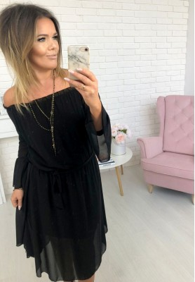 Sukienka Brushetta Czarna